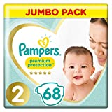 Pampers Premium Protection Größe 2, 4-8kg, 68 Windeln